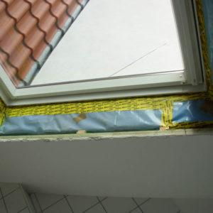 Dachfensterausbau